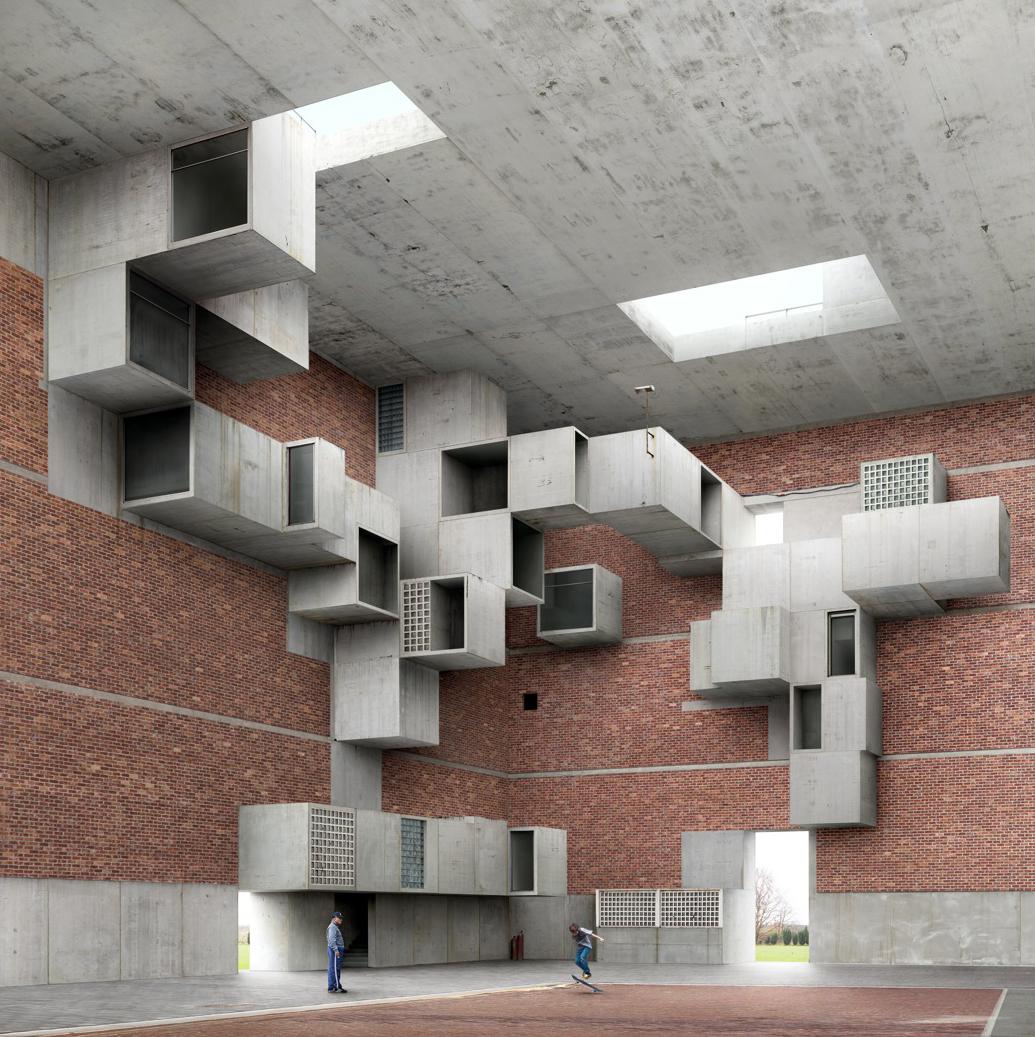 Part 1 filip dujardin uncube for Architecture impossible