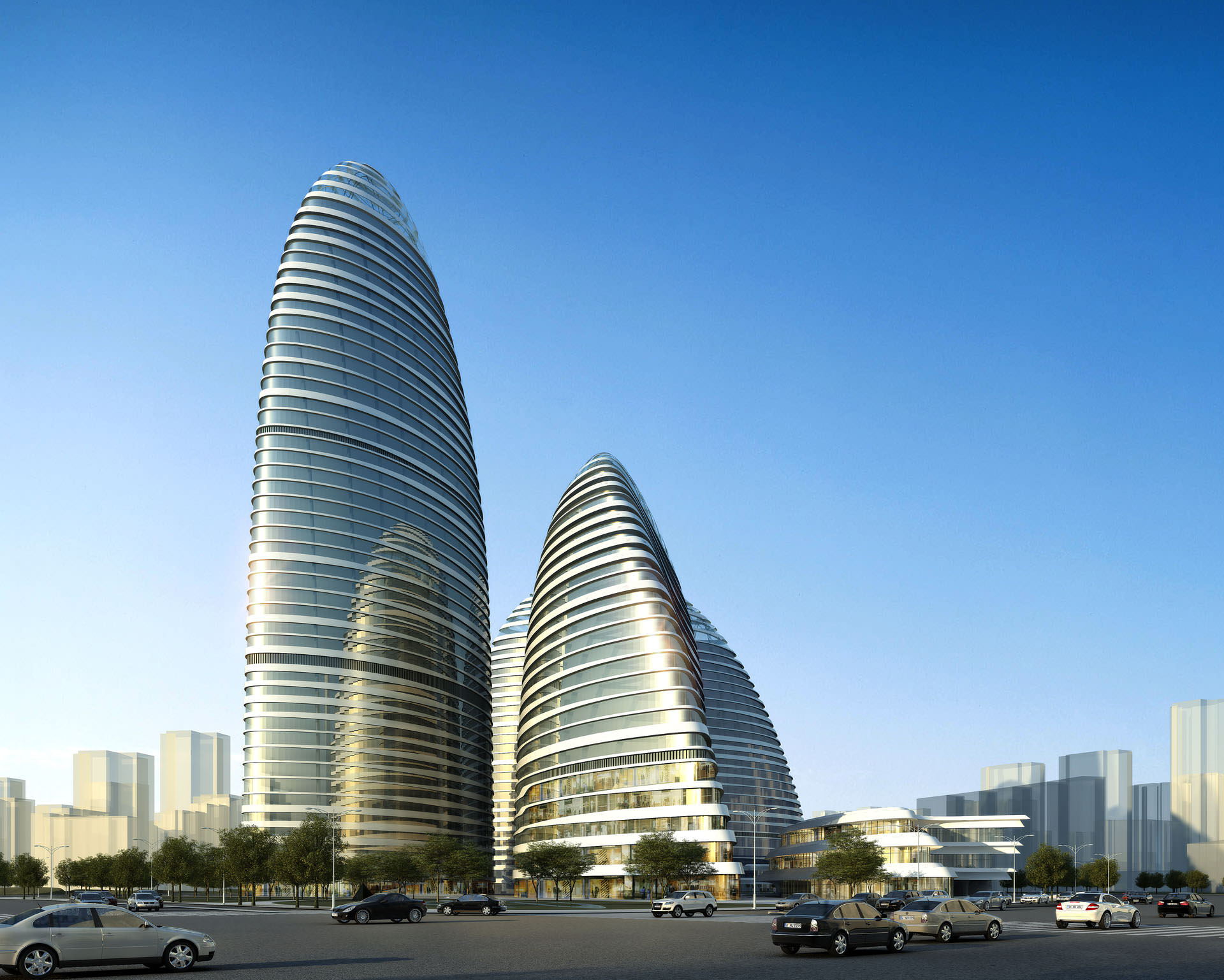 Zaha s new beijing bubbles uncube for Best modern buildings