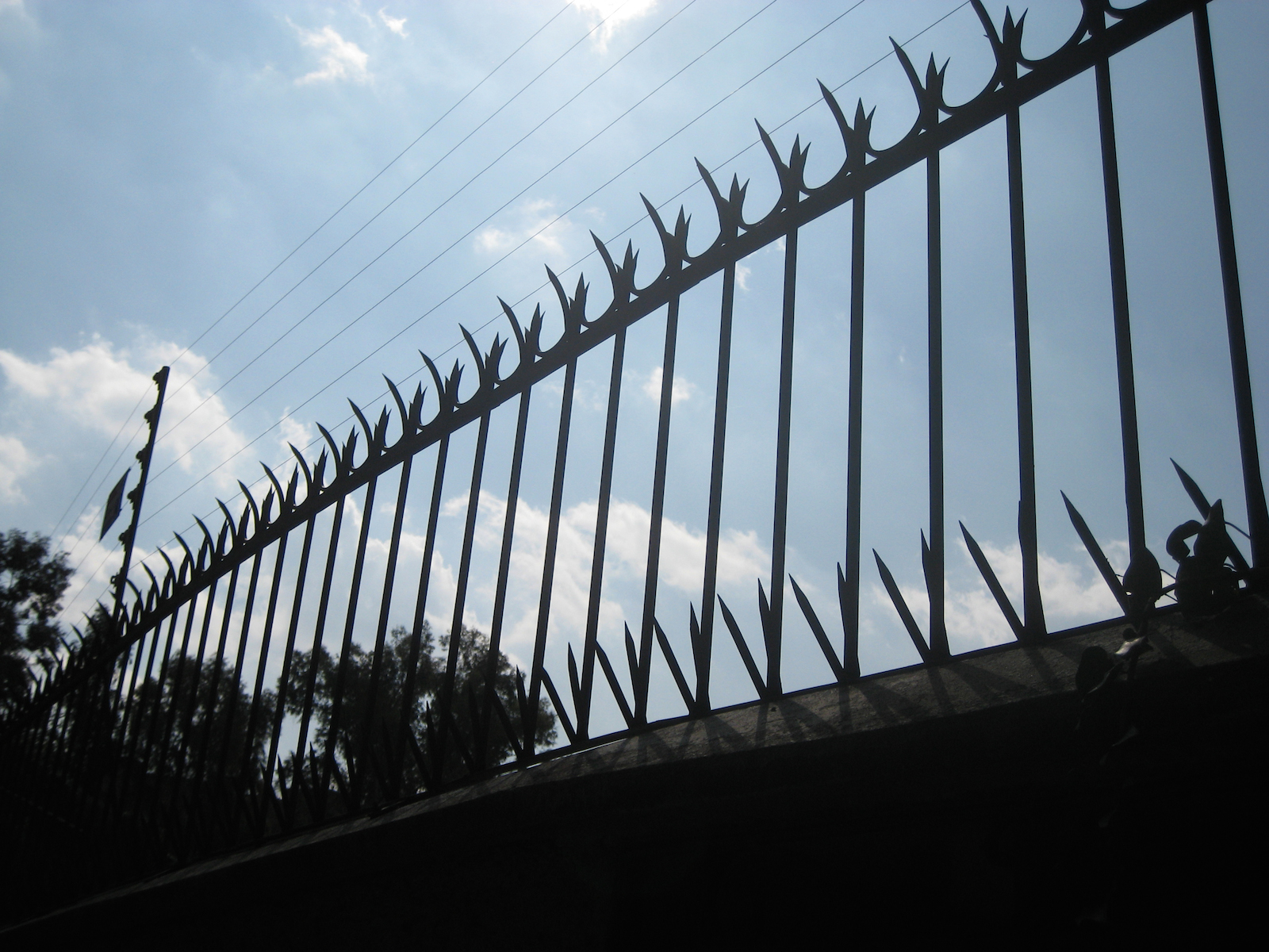 Mexico City And Its Traces Of Social Injustice Uncube Les Also Strainer Wire Fence Posts Further Electric Installation Scared Photo Allan Agami 2010