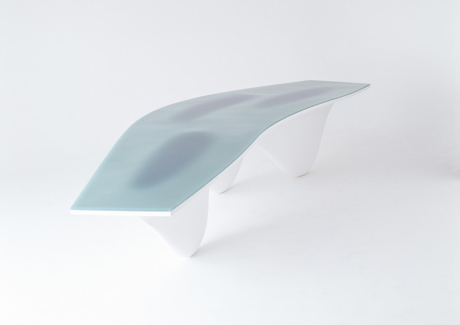 Zaha hadid 1950 2016 by andreas ruby uncube for Mesa table design by zaha hadid for vitra