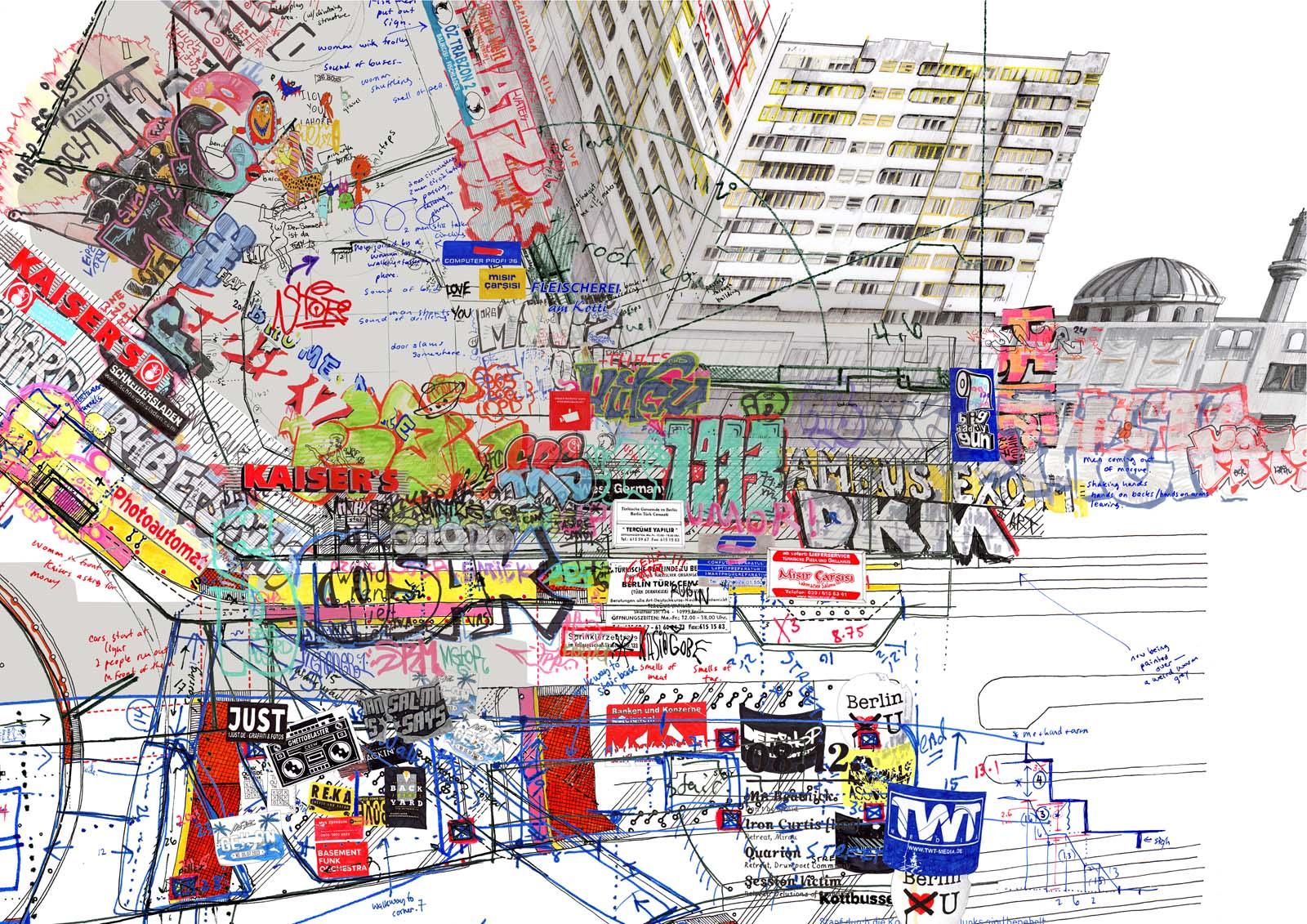 Larissa Fasslers psychogeographic cartographies uncube