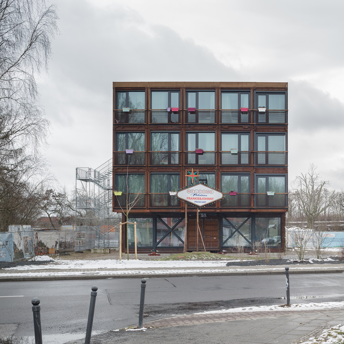 A Container village for students in Berlin - uncube