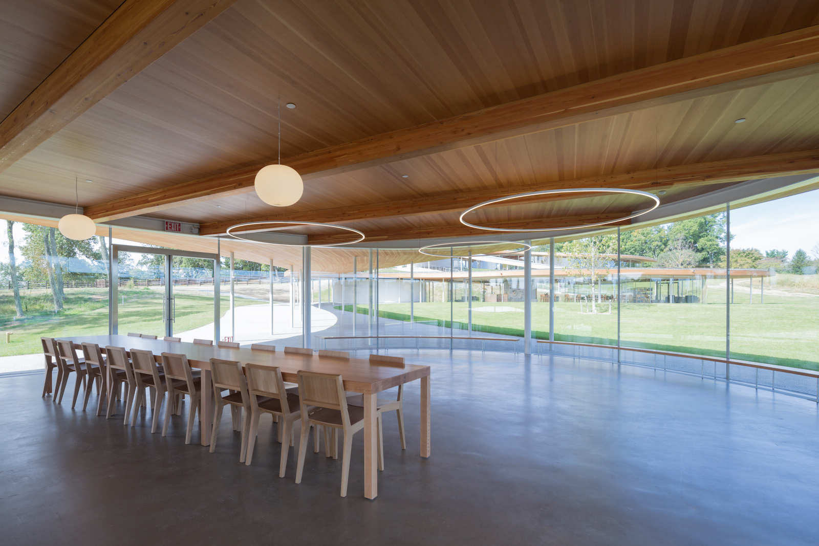Grace Farms Cultural Centre By Sanaa Uncube