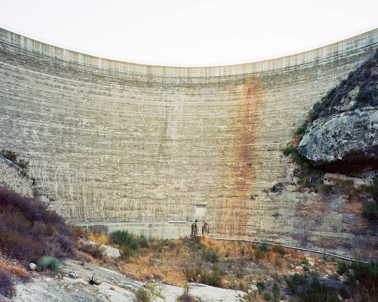 Gibraltar Dam, California 2014.