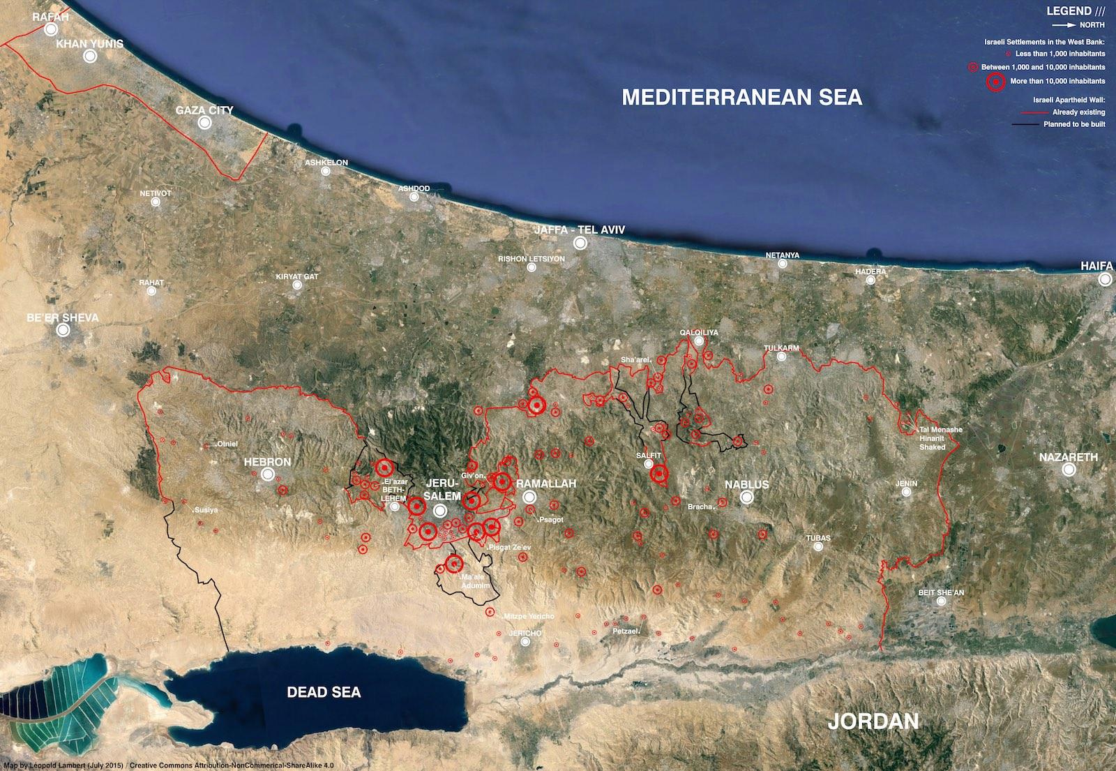 Beer Sheva Israel Map%0A Israeli settlements and separation barrier in Palestine  u    nbsp July       u    nbsp  Map by