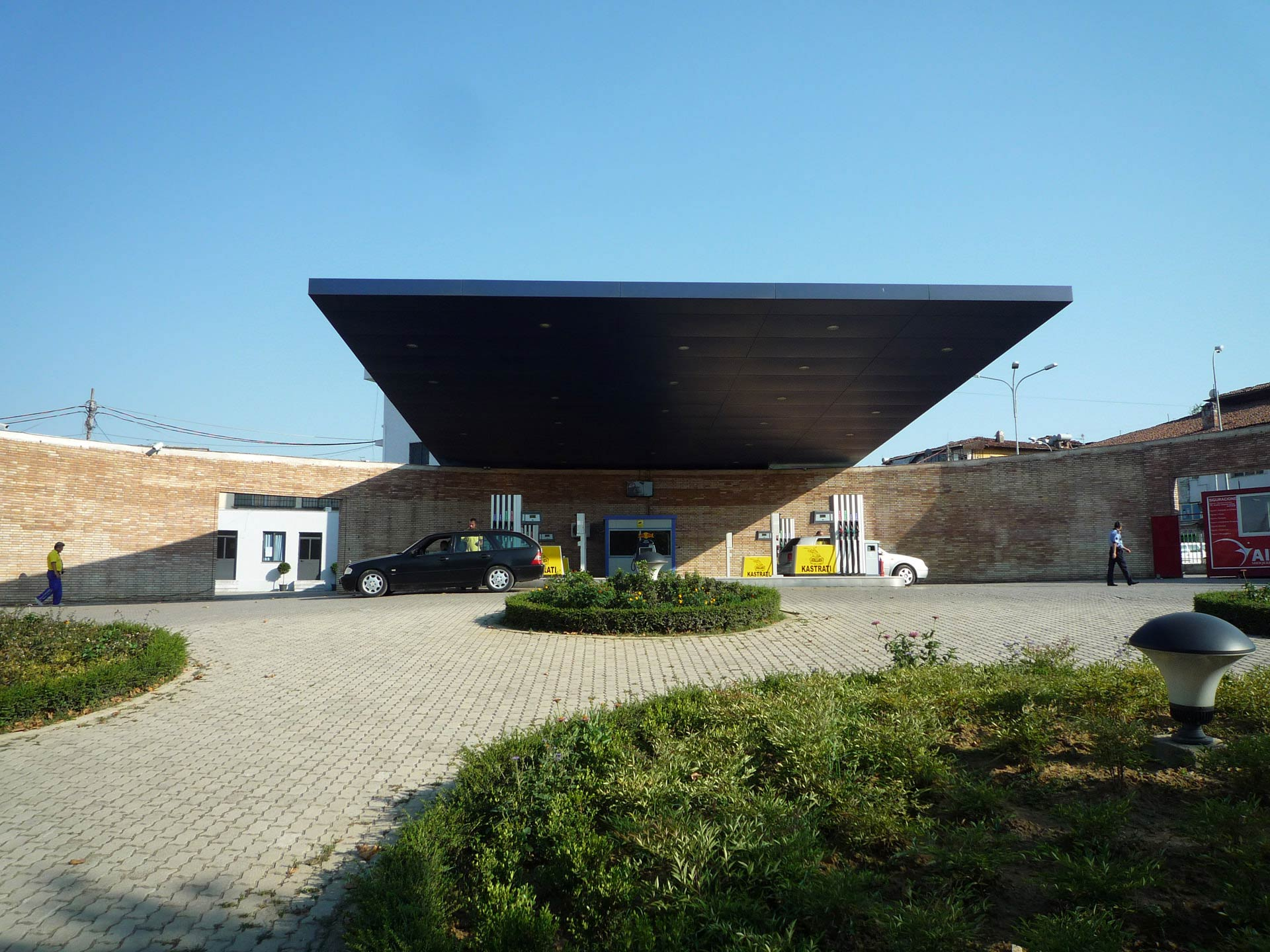 albanian petrol stations by 51n4e uncube. Black Bedroom Furniture Sets. Home Design Ideas