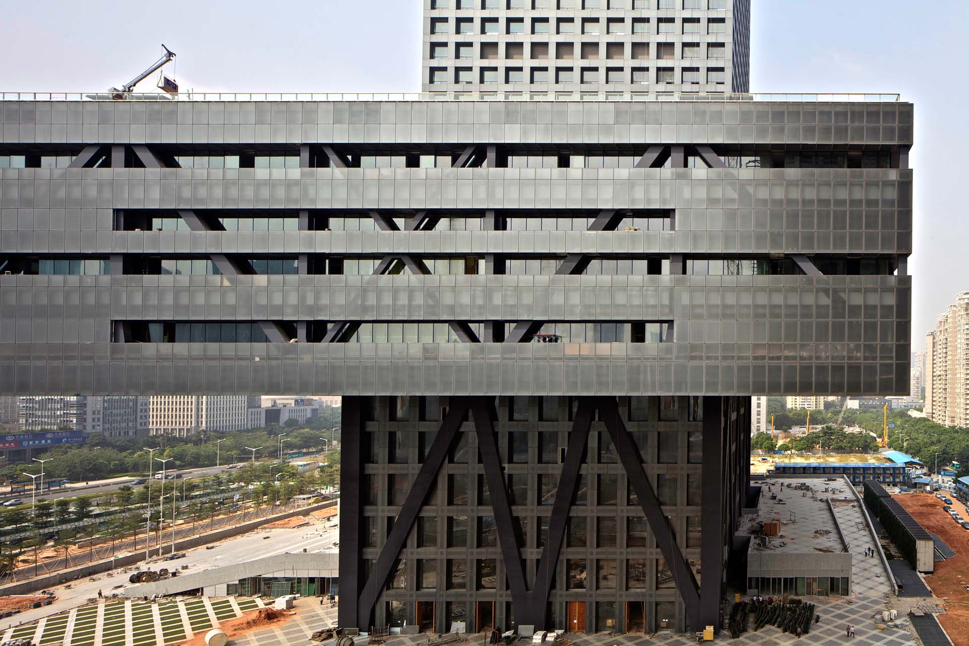 Reading oma s shenzhen stock exchange uncube - Office for metropolitan architecture oma ...