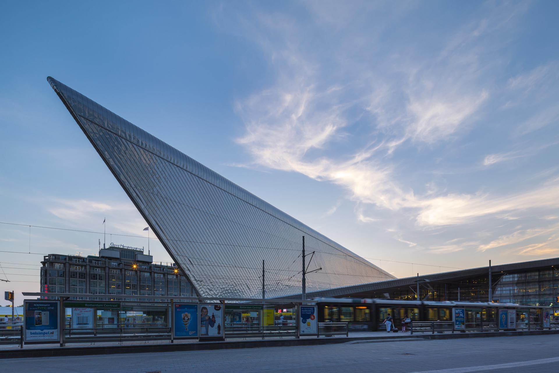 Rotterdam S New Central Rail Hub Uncube