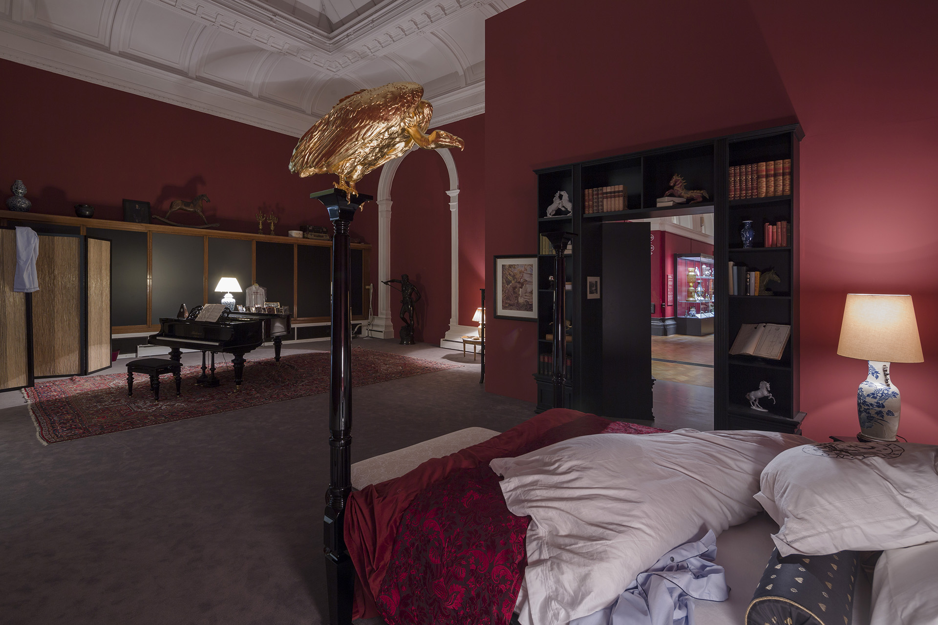 Elmgreen & Dragset's Installation At The V&A, London