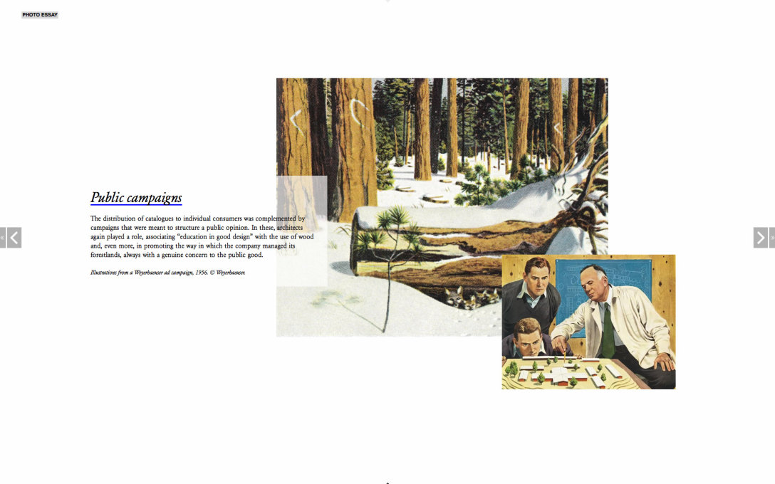 Weyerhaeuser Ad campaign images
