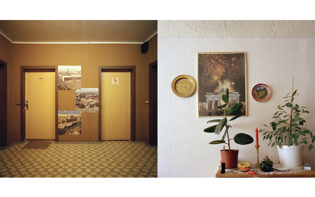 Apartment interiors, Marchwitzastrasse 1-3, former East Berlin, built 1976-1987, demolished 2002.
