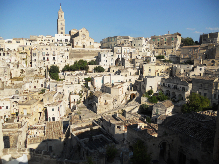 Matera is famous for its Sassi, or prehistoric cave dwellings, which were dubbed a UNESCO Heritage Site in 1993. Today it is bidding for European Capital of Culture 2019. (Photo: Wikimedia Commons)