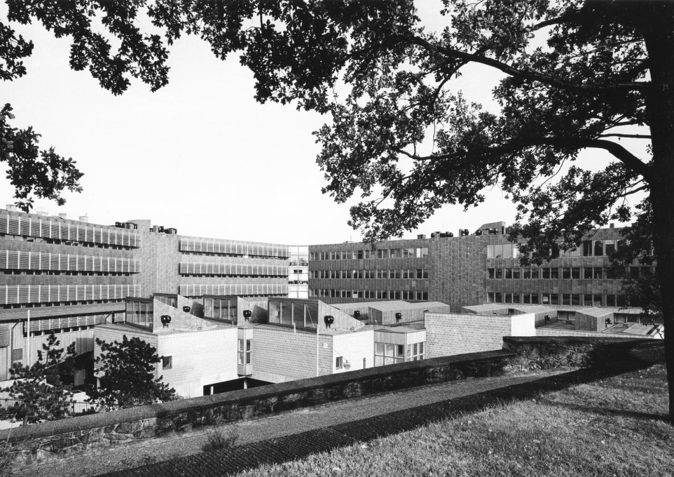 The KTH School of Architecture, as portrayed by photographers Sten Vilson in 1970...