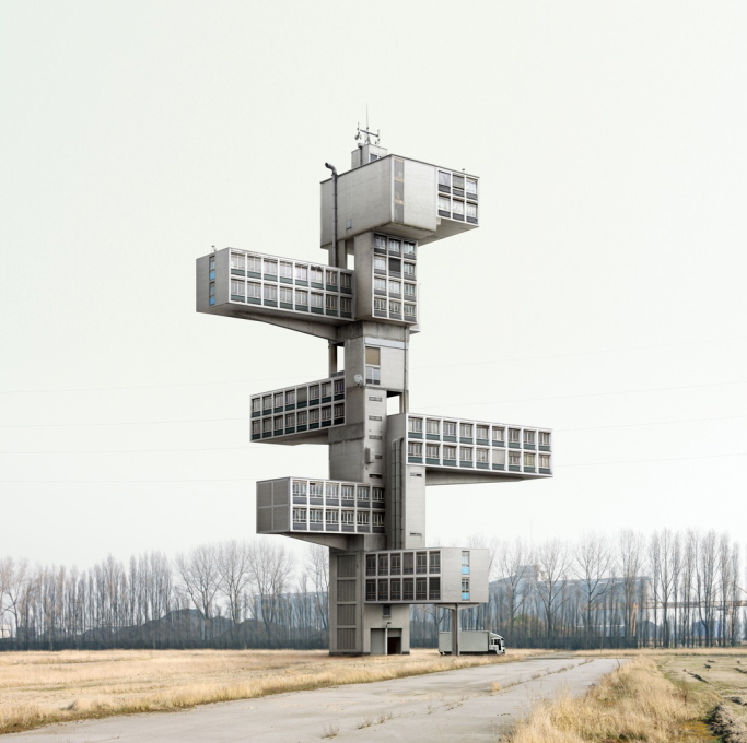 "Photo: Filip Dujardin, ""Impossible Architecture"""