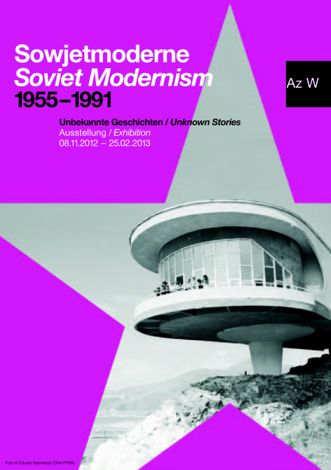 "The exhibition ""Soviet Modernism 1955 – 1991: Unknown Stories"" runs from 8 November, 2012 – 25 February 2013 at the Architekturzeuntrum Wien (Photo: Eduard Gabrielyan (CNA FPSR))"