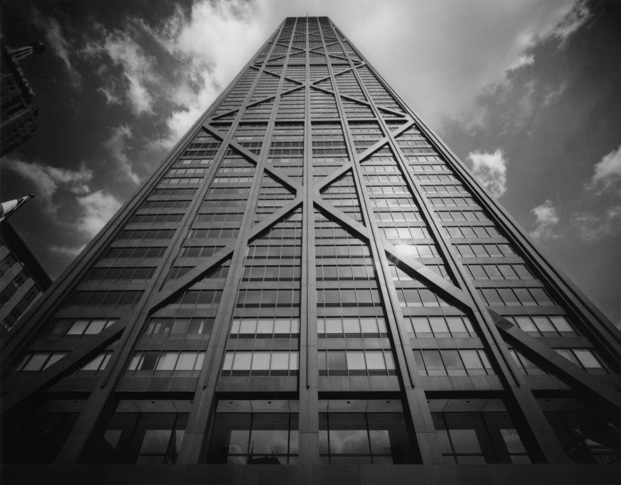 SOM's Hancock Center, completed in 1970. (Photo © Ezra Stoller ESTO)