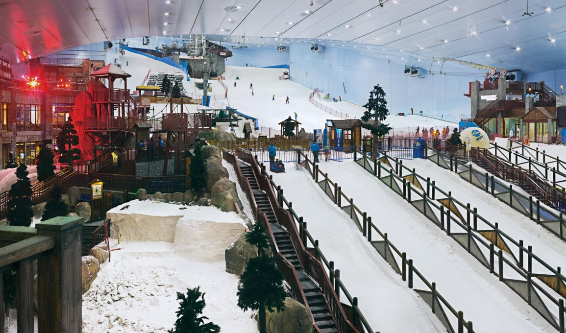 "25° 07' 05"" N 55° 11' 51"" E, Ski Dubai, Mall of the Emirates, Tor Seidel, 2014"