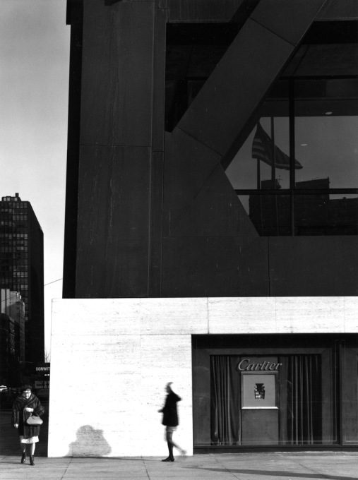 SOM's Hancock Center at street level. (Photo © Ezra Stoller ESTO)