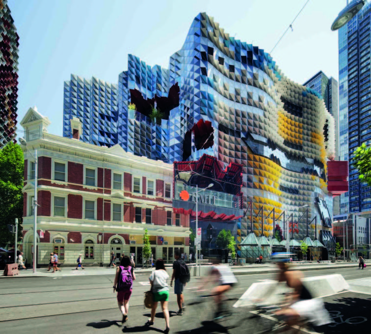 Swanston Academic Building, Melbourne (2012), Lyons Architects. (Photo: John Gollings)