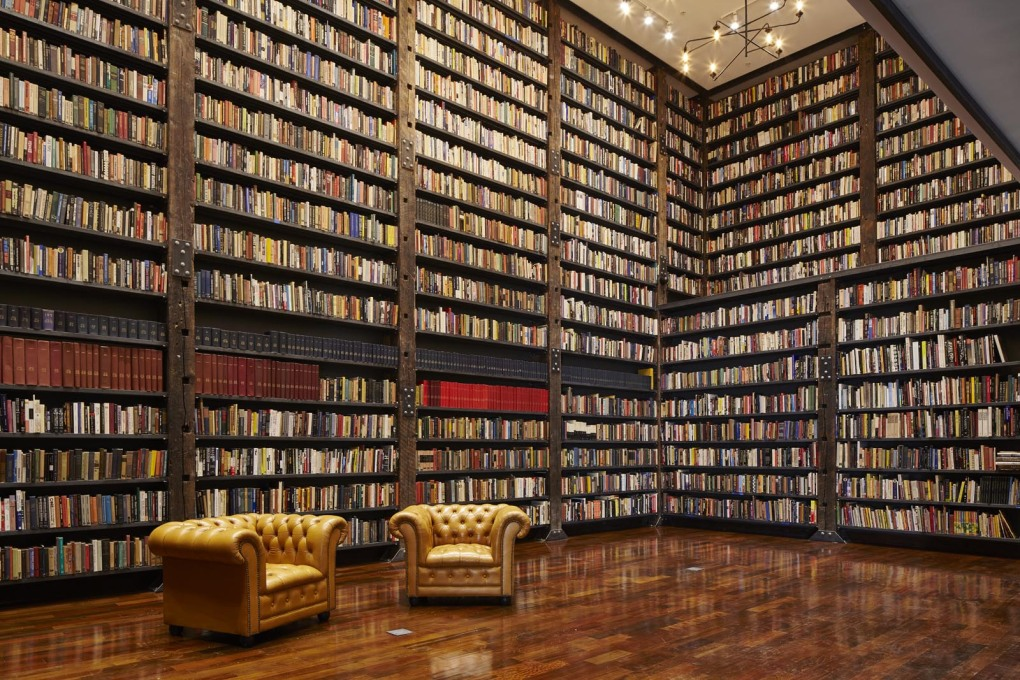 The extraordinary Stony Island Arts Bank library. (Photo: Tom Harris, courtesy Chicago Architecture Biennial)