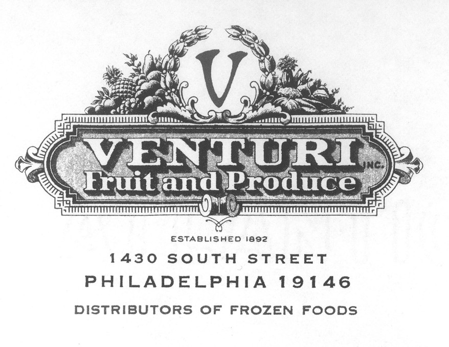 Venturi Fruit and Produce Logo.