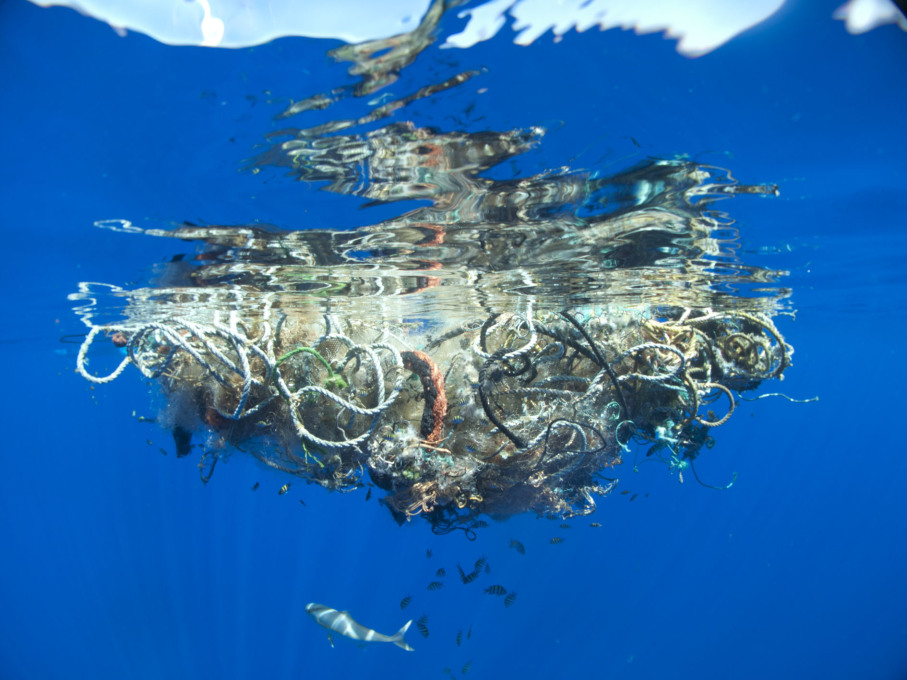 Out to Sea? Great Pacific Garbage Patch, 2009, Photo: © Lindsey Hoshaw