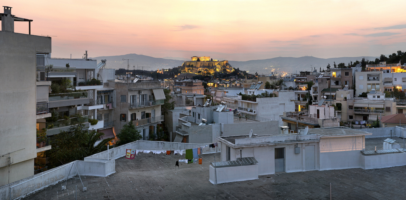 View of the Acropolis from the Proairesiou neighbourhood. (Photo: Yiorgis Yerolymbos)
