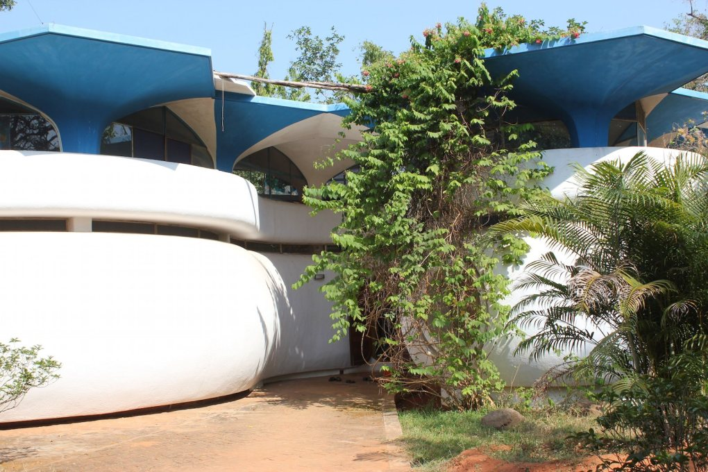 In Auroville, it's common for kids of three to speak three or more languages,...