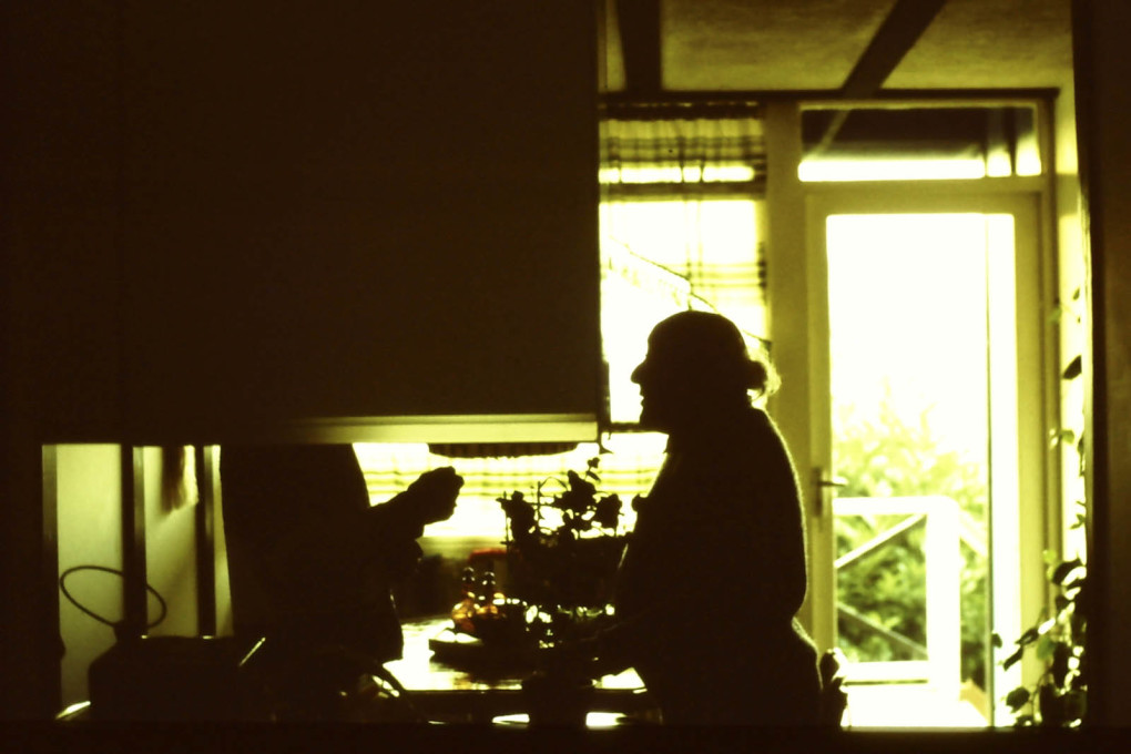 Walter Segal at home. (Photo courtesy Jon Broome)