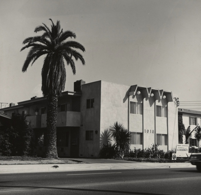 "From ""Overdrive"": Ed Ruscha, 1018 S. Atlantic Blvd., 1965. (Photo: The J. Paul Getty Museum, Los Angeles © Ed Ruscha)"