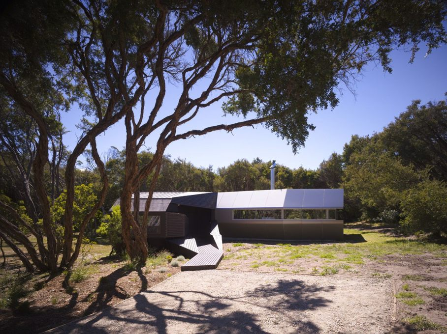 Cape Schanck House, Cape Schanck (2006), Paul Morgan Architects (Photo: Peter Bennetts, courtesy Paul Morgan Architects)
