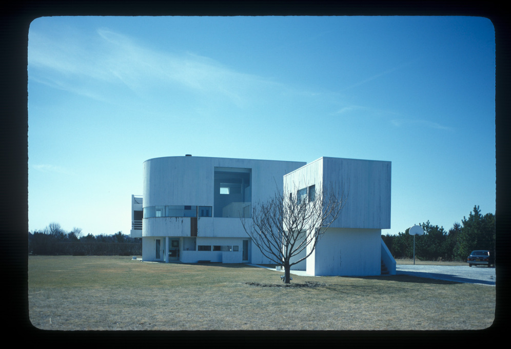 Richard Meier: Saltzman House, East Hampton, 1969.