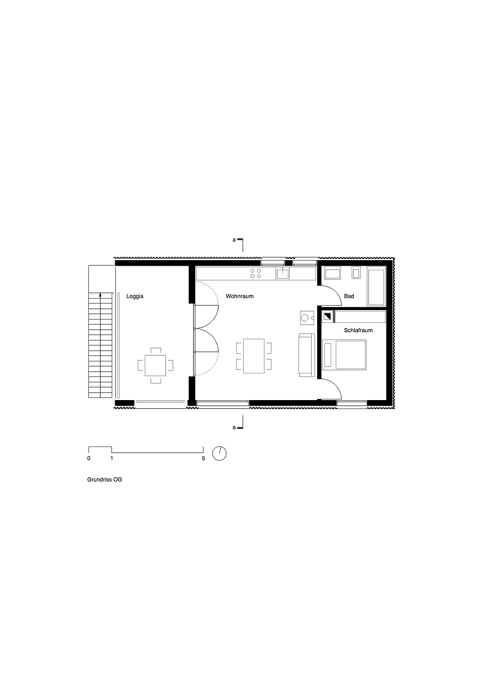 First floor plan. (Image: Fabian Evers Architecture and Wezel Architektur)