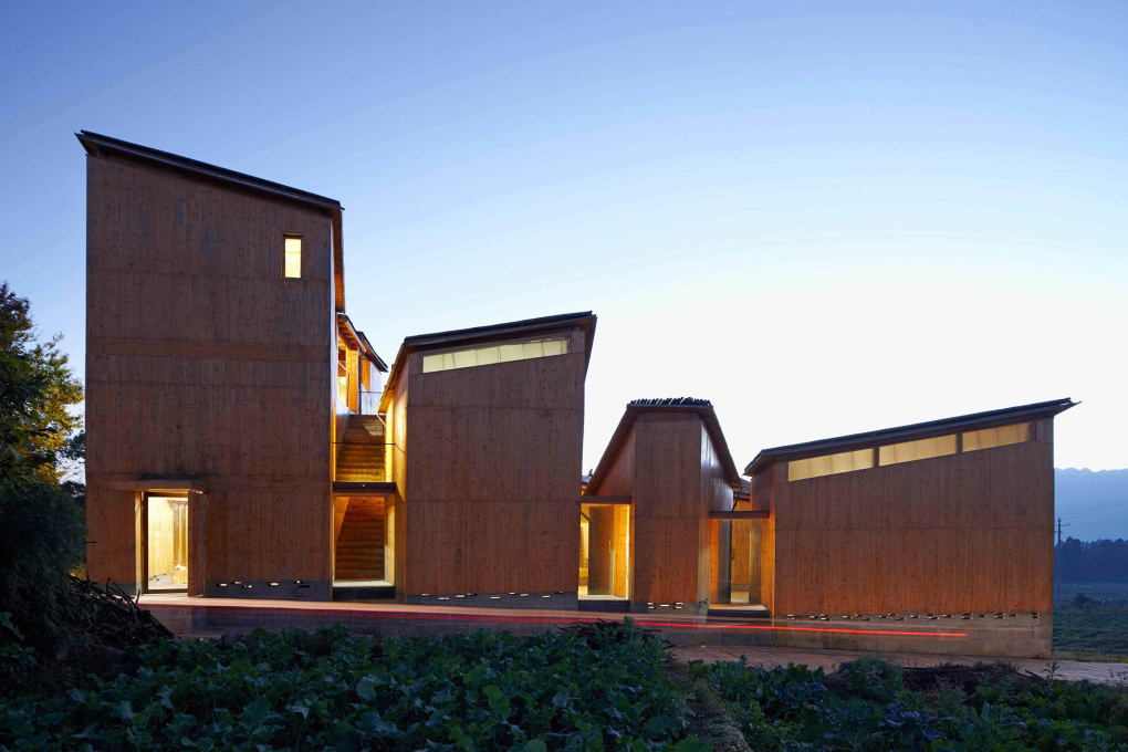 Trace Architecture Office (TAO): Museum of Handcraft Paper, Xinzhuang, Yunnan, China, 2010. (Photo: © Shu He)