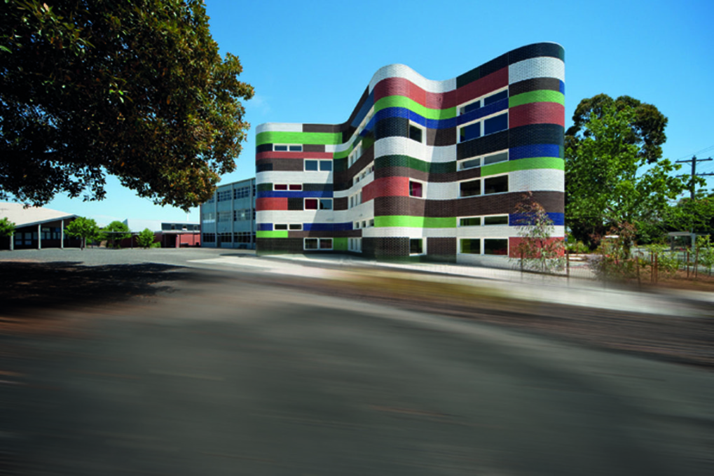 Fitzroy High School, Melbourne (2009), McBride Charles Ryan (Photo: John Gollings, courtesy McBride Charles Ryan)