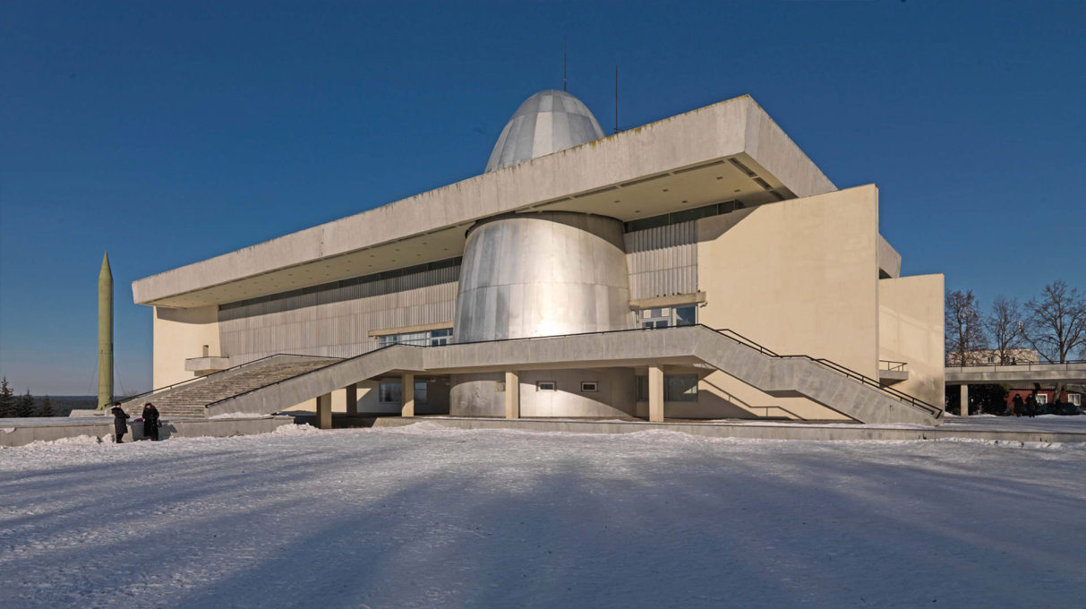 Opened in 1967, the Museum of Cosmonautics in Kaluga is a key work of modernism in the Soviet Union. (Photo: Philipp Meuser)