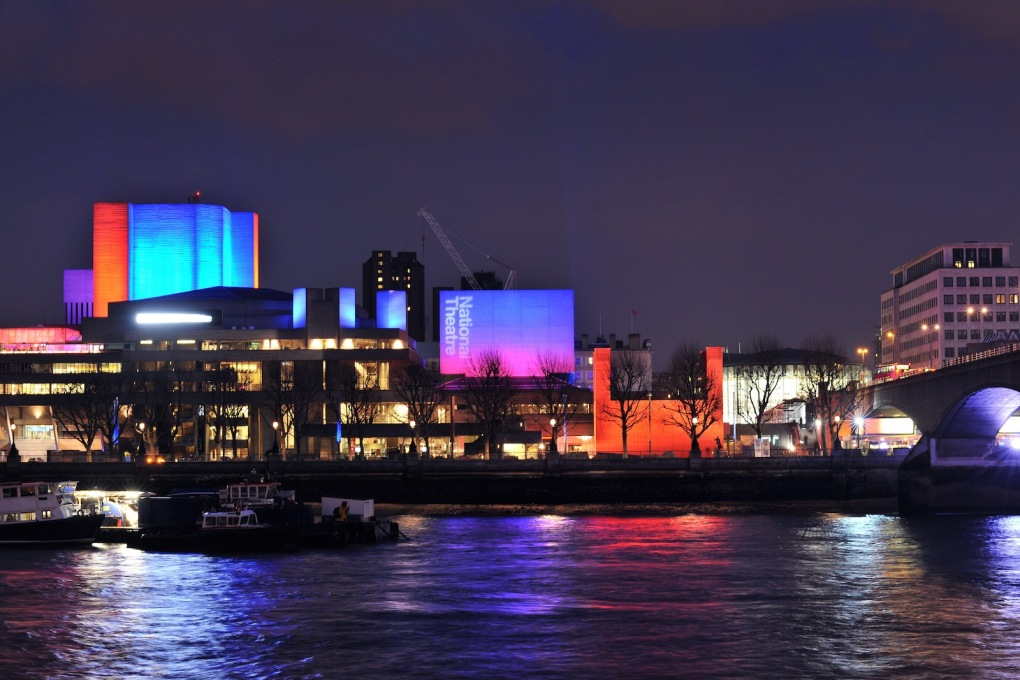 The theatre's prominent concrete forms viewed from the northern side of the River Thames. (Photo: Philip Vile)