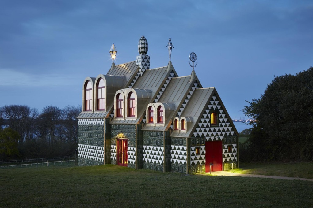 "The gingerbread-like ""House for Essex"", designed by FAT Architecture and the artist Grayson Perry around the story of its fictional (and now dead) owner. (Photo: Jack Hobhouse)"