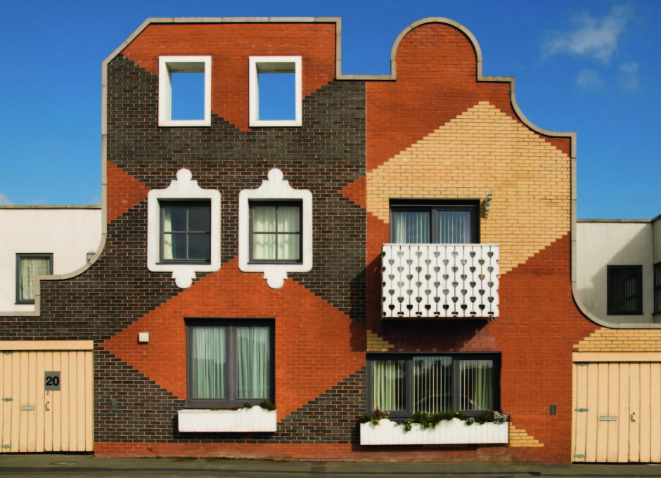 "Islington Square, Manchester, UK, 2006, FAT Architecture. (From ""Brick""' William Hall. Photo: Alamy)"
