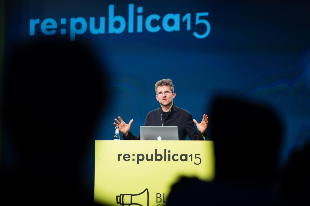 "Carlo Ratti at ""re:publica 15"" in Berlin on Day 3: May 7th, 2015. (Photo © re:publica/Jan Zappner)"