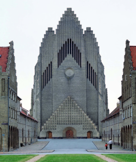 "Grundtvig's Church, Copenhagen, Denmark, 1927, Peder Vilhelm Jensen-Klint. (From ""Brick""' William Hall. Photo: Alamy)"