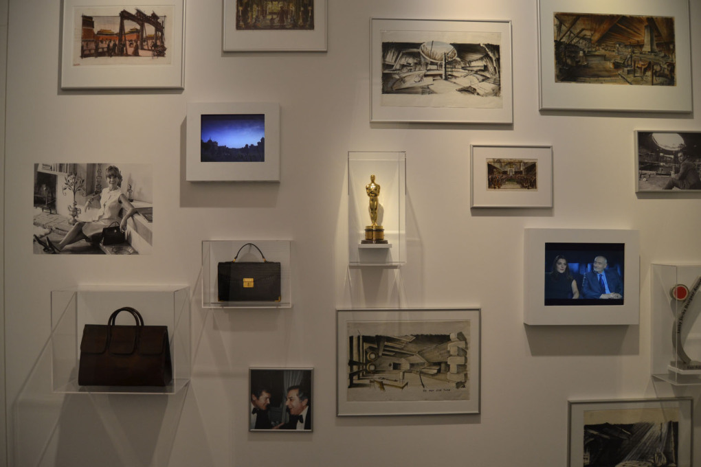 The highly recommendable exhibition in Berlin includes some personal memorabilia of Adam including one of his Academy Awards... (Photo: Florian Heilmeyer)