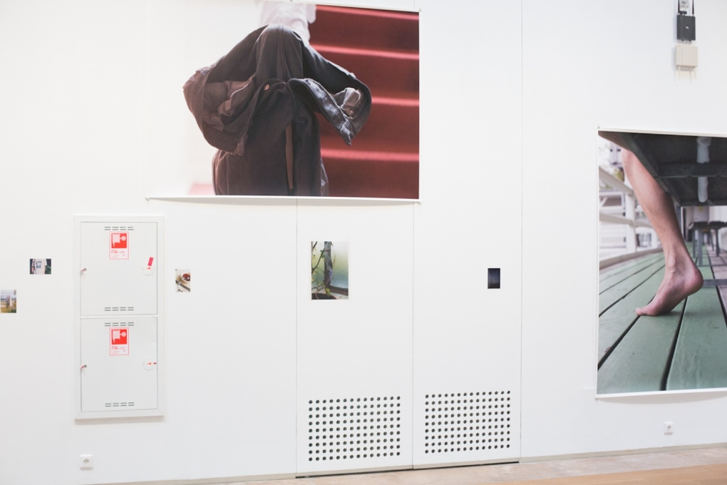 """I would rather just stick a photograph on a door and that way occupy it, activate it..."" Installation view of current Manifesta 10, Hermitage, St Petersburg. (Photo courtesy the artist)"