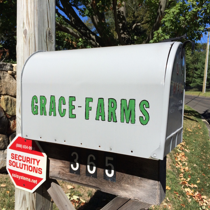 The name Grace Farms references the site's use as farmland until the early 1990s. (Photo: David Bench)