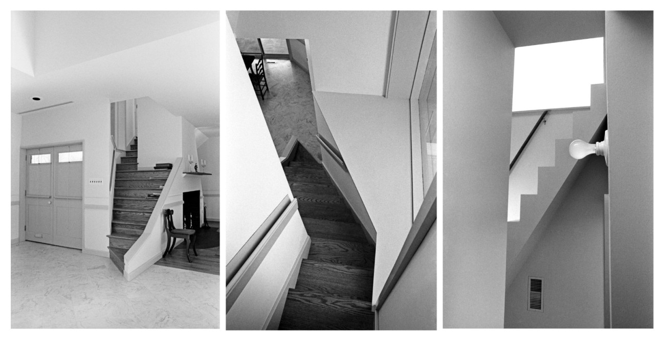 Vanna Venturi House stairs to nowhere.