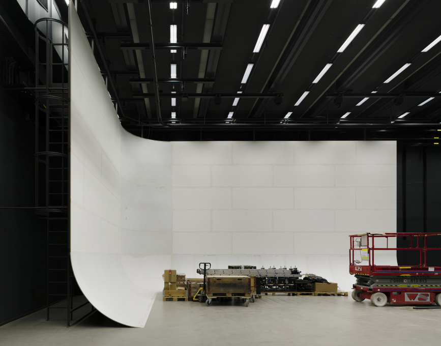 The film studio' located in the annexe building. (Photo: ©Simon Menges)