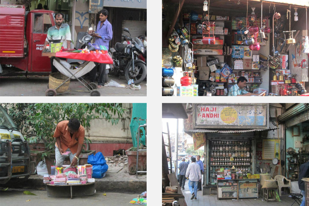 "Examples of one-foot shops, actual ""transactional"" objects..."