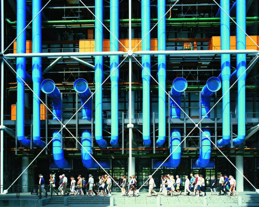 Rogers' truly epic projects - the Pompidou and Lloyd's - show how all these ideas come together in astonishing buildings which have really helped change how our cities work.