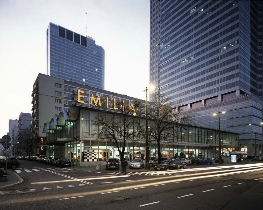 "Until the pavilion of a former furniture store ""Emilia"" became available. (Photo: Jan Smaga)"