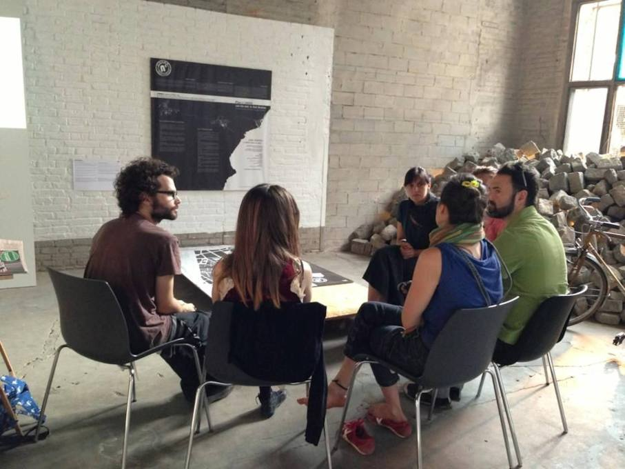 In their workshop, n'UNDO presented their speculative plan for San Andreu. The team won second place in the awards for the Share-It category. (Photo © Eme3)